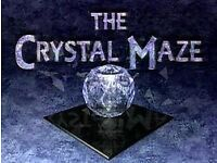 Crystal maze full team Easter Saturday Manchester