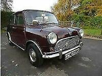 Austin Mini MK1 1965 in Maroon