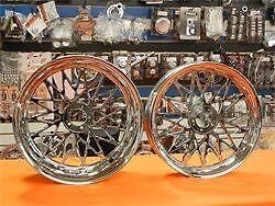 2004-2008 Chrome 240 Bandit Wheels With Hubs Yamaha R1