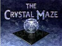 Crystal Maze Team Ticket (8 People) - Sunday 29th Jan 9pm ***FACE VALUE***