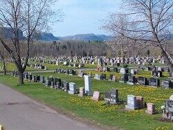 Traditional Two Grave Cemetery Plot - PRICE DECREASE