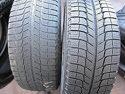 4 used winter tires like new - Michelin ice x3 -  215/60r16