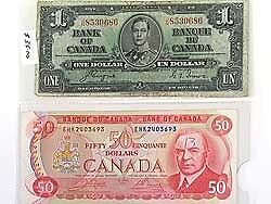 Buying old paper bills, paper money, Canadian and us, silver West Island Greater Montréal image 5