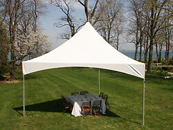 AUCTION DEC 8TH PARTY TENT FOR SALE WHITE USED