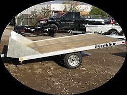 Wanted. Double snowmobile trailer