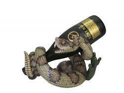 SNAKE WINE BOTTLE HOLDER GOTH MULVEY FLEA MARKET