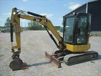 2009 CAT 303CCR Mini Excavator