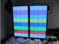 LEDJ syncro screens