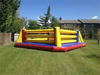 INFLATABLE BOXING RING FOR RENT! (PARKER PARTIES)