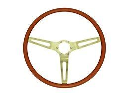1969 1970 Chevelle El Camino  3 Spoke Cushion Grip Steering Wheel Red