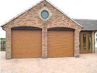 Electric garage roller doors