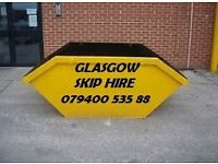 Cheap Skip Hire Glasgow Renfrewshire East Renfrewshire