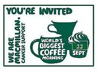 Cake stands wanted, for Macmillan coffee morning, please