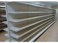 Used commercial Tegometall style shelving