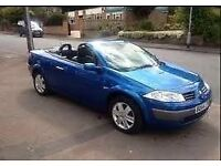 Great Value 2005 55 Renault Megane 1.6 Dynamique Hard-top Electric Convertible August 2017 MOT