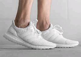 Ultra Boost 3.0 Triple White - SZ 10.5