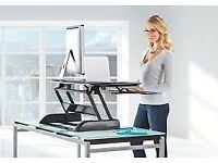 DeskRite 100 Sit to Stand Desk (Cordless Mouse included) :O) £150.00