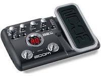 Zoom 2.1 guitar foot pedal