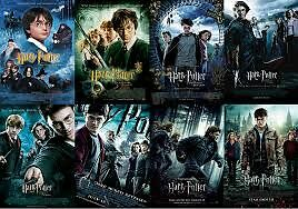 Harry Potter dvds (not blu ray) Movies