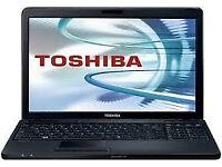 PROFESSIONALLY REFURBISHED TOSHIBA SATELLITE LAPTOP 4GB RAM 250GB HDD INTEL DUO OFFICE 6 MTH WRNTY