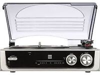 Dual DTR 50 turntable with internal speakers