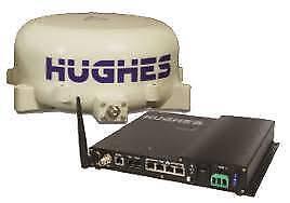 Hughes 9450-C11 BGAN Mobile Satellite Terminal - 1 hour use