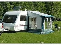 Bradcot Portico caravan porch awning..green / cream