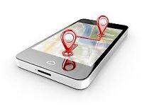GPS-TRACKED LEAFLET DISTRIBUTORS - DOOR TO DOOR LEAFLET DISTRIBUTION