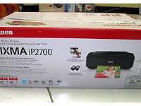 Canon Pixma ip2700 colour printer. New, still in box.