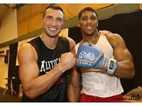 Anthony Joshua vs Klitschko 2 tickets including return coach from Liverpool