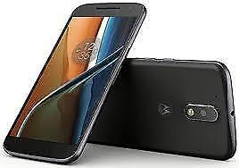 Motorola - MOTO G (4th Generation) 4G LTE with 16GB Memory Cell Phone (Unlocked) - Black