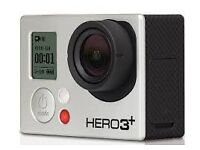 GoPro Hero3+ with case, usb, 32GB card