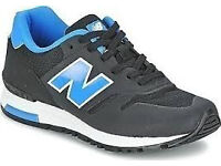 New Balance Trainers (NEW - Black & Blue)