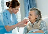 infirmière auxiliaire, préposé aux  bénéficiaire