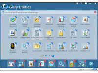 glary utilities programme fully updateable to new version keeps your pc clean free from trash