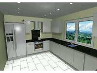 Kitchens planned and designed and supplied from £995 Inc oven hob and hood