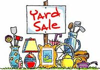 SUNDAY--Yard sale-Estate sale---8 am --one day only.