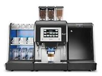 Karisma Commercial Coffee Machine Ideal for any Club House, Fresh milk and coffee beans,