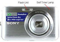 SONY DSC-W310 is a 12.1 MP Camera DOES NOT WORK