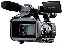 professional video camcorder Sony HXR-NX3