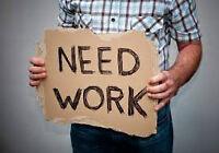 Homme cherche emploi