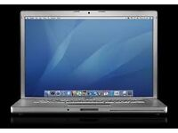 MACBOOK PRO INTEL CORE 2 DUO, 15'' SILVER, STORAGE-250 GB, MEMORY-2GB.used but good condition