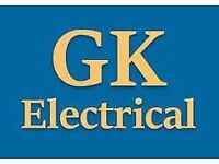 GK Electrical, local electrician call 07584566569