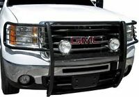 PUSH BAR GRILL GUARD NOIR GMC SIERRA