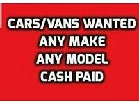 Cars and vans wanted today 💷🚗