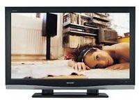 "Sharp 46"" Aquos Full HD 1080p Digital LCD TV 2 x HDMI & Freeveiw Built-in"