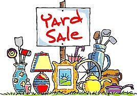 Yard Sale Sunday June  25