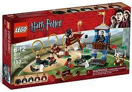 LEGO Harry Potter Quidditch Match (#4737) BRAND  NEW - COMPLETE BUT NO BOX