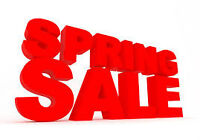 Spring Inventory Sale on Select ATV'S