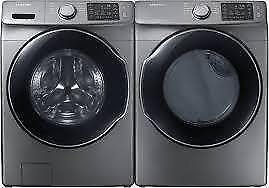 361- NEUF- Laveuse Sécheuse  Frontales  Inox  SAMSUNG  Frontload Washer and Dryer - NEW